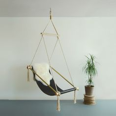 decor, idea, indoor hanging chair, gentleman studio, hang chair, ovi hang, hanging chairs, furnitur, blog designs