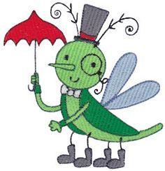 Snug As A Bug Too embroidery designs at Bunnycup Embroidery at http://www.bunnycup.com/embroidery/design/SnugAsABugToo