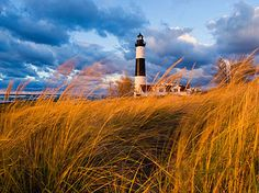 ludington state park, Michigan