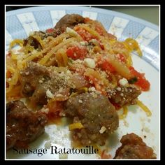 Sausage Ratatouille Recipe and Giveaway