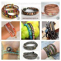 #DIY 9 Chan Luu Bracelets' Tutorials. #chan_luu #diy_bracelet #knockoff #tutorial #roundup