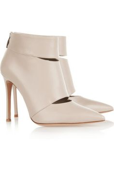 Gianvito Rossi | Cutout leather ankle boots
