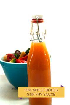 Pineapple Ginger Stir-Fry Sauce - Savvy Eats
