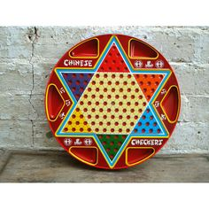 vintage chinese checkers