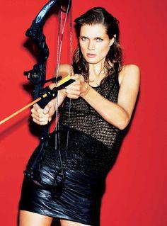A Sporty Malgosia Bela By Katja Rahlwes For Zeit Magazine February2014 - 3 Sensual Fashion Editorials   Art Exhibits - Anne of Carversville...