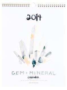 Gem & Mineral 2014 Calendar
