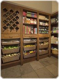 Gorgeous Food Storage Pantry!