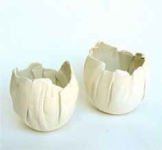 hand built porcelain bowls