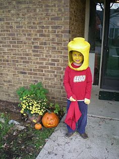 Lego Halloween Costume - very, very cool!