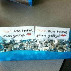 """Kiss"" those testing jitters goodbye!"