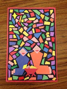 classroom idea, christma card, christmas cards, card project, creative maths