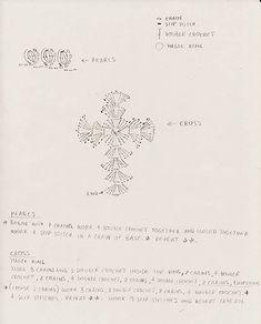Ravelry: Crocheted Rosary Bracelet pattern by Moira Durano