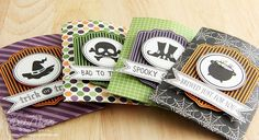 limedoodle, There She Goes Stamps, Halloween, treat holders