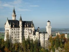Munich, Germany. (Neuschwanstein Castle, the one Disney is based on) Bucket list