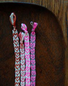 Valentine's Day friendship bracelets