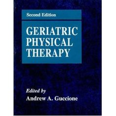 Geriatric Physical Therapy. Pinned by SOS Inc. Resources.  Follow all our boards at http://pinterest.com/sostherapy  for therapy resources