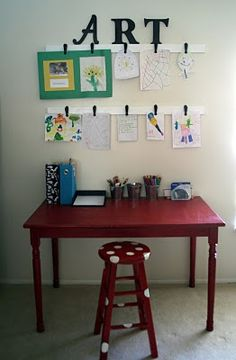 Hang to-do items on wall above desk along with photos and other personal items. Possibly add some baskets on ends.
