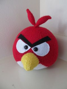 Red Bird (Angry Birds) Amigurumi - FREE Knitting Pattern / Tutorial