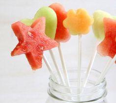 Sucettes fruits