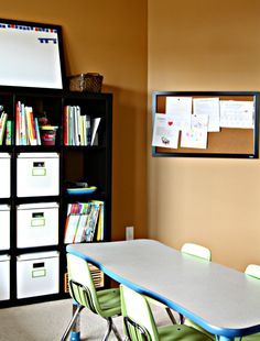 More homeschool organizing