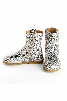 Pepe Leopard Print Short Boots