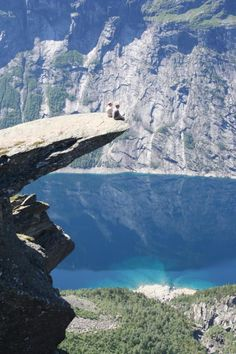 Trolltunga. Norway.
