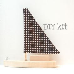 DIY toy sailboat
