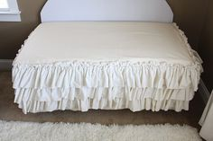 cute bed skirt