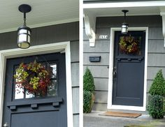 a modern take on craftsman style i want a craftsman door so bad!