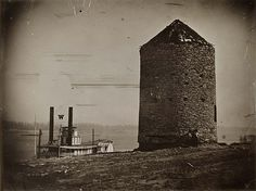 Old Spanish Fort, ca. 1850 by Missouri History Museum, via Flickr
