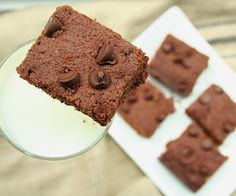 Flax Seed Brownie Recipe   All Day I Dream About Food