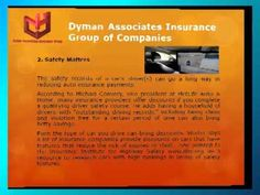 Dyman Associates Insurance Group of Companies - 5 Tips to Save on Auto Insurance - http://dymanassocins.livejournal.com/ Auto insurance should have a place in your budget, but it shouldn't be considered a fix cost.  Shopping around can yield lower rates, but it's not the only way to reduce payments. Insurers offer a slew of discounts for everything from safe driving to being a loyal customer—but you have to ask.  http://dymanassociatesinsurance.blogspot.com/