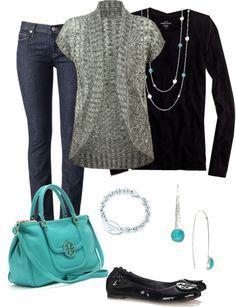 High school class reunion outfit idea