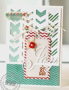 Snow Village line by Pink Paislee. #pinkpaislee #card #DIY