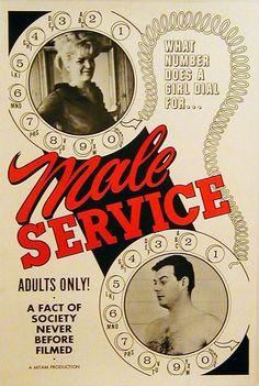 Male Service (1966) Porn Poster