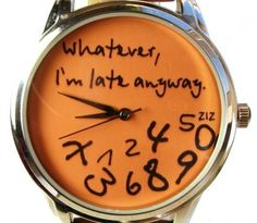 totally my watch! :D