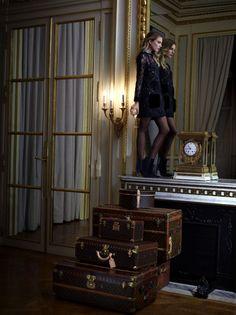 Dree Hemingway for Louis Vuitton Pre-Fall 2013. Hotel de Crillon, Paris.
