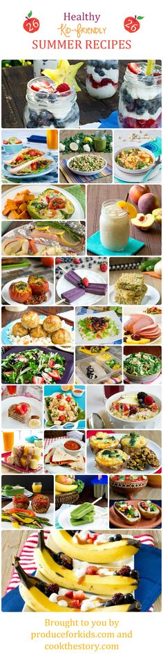 Healthy Summer Recipes for the Whole Family from @COOKtheSTORY