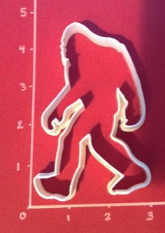 Bigfoot/Sasquatch Cookie Cutter by CutterShop on Etsy