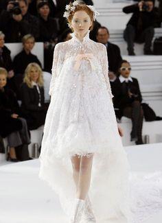 Chanel, white, dream dress