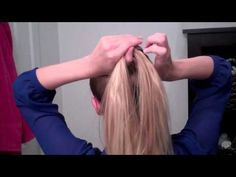 Fishtail Braid Ponytail -- Easy quick everyday hairstyles for long hair and medium hair
