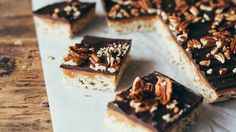 Blogger Molly Yeh from  My Name is Yeh  puts a millionaire's twist on the classic marshmallow Chex™ bar.
