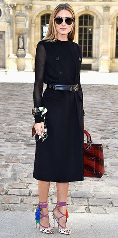 Olivia Palermo in Dior #InStyle