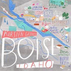 24 Hours in Boise, Idaho! #boise #idaho #travel #city #cityguides