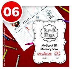 Me & My Elf Memory Book | Santas Office