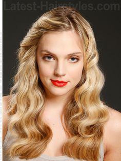 Full Blonde Waves