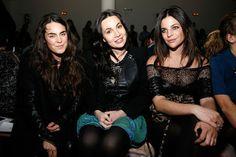 Fabiola Beracasa Tallulah Harlech Kevork Kiledjian - Front Row & Backstage - Fall 2011 Mercedes-Benz Fashion Week