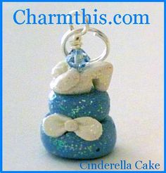 Polymer Clay Cinderella's Glass Slipper by CharmthisClayCharms, $4.00