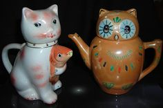 The Owl & PussyCat come to tea...