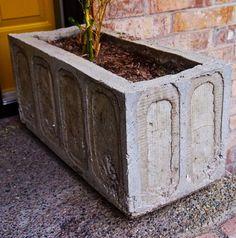 {DIY} Concrete Planter!